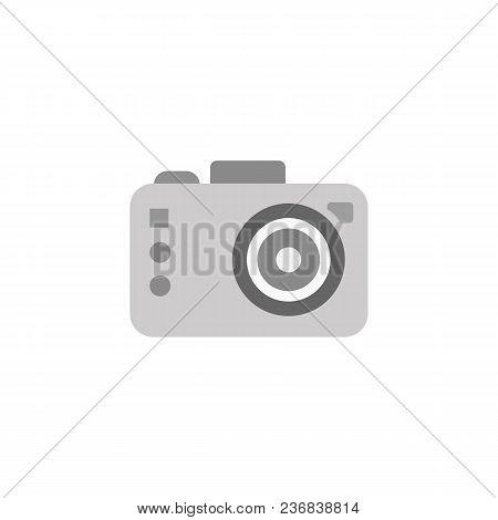 Photo Camera Vector Isolated Illustration In Cartoon Style