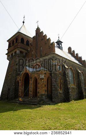 Neo-gothic Church Of St. Clara In Central Ukraine