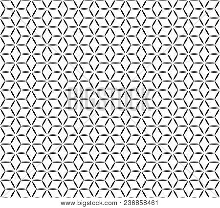 Islamic Abstract Ornament Pattern Design. Seamless Vector Background.