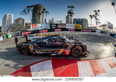 April 13, 2018 - Long Beach, California, USA:  The IMSA WeatherTech SportsCar Championship practice for the Bubba Burger Sports Car Grand Prix At Long Beach in Long Beach, California.