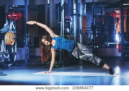 Woman Warm Up Before A Morning Workout
