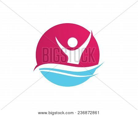 Health Success People Care Logo And Symbols Template,,