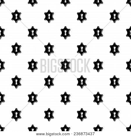 Keyhole Pattern Vector Seamless Repeating For Any Web Design