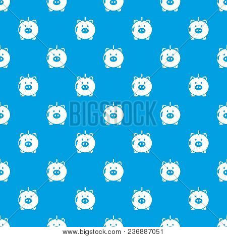 Safe Money Pattern Vector Seamless Blue Repeat For Any Use
