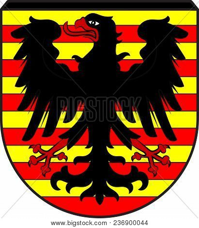 Coat Of Arms Of Alpen Is A Municipality In The District Of Wesel, North Rhine-westphalia, Germany. V