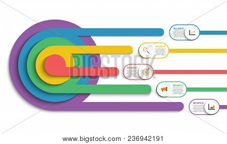 Infographic Design Vector And Marketing Icons Can Be Used For Workflow Layout, Diagram, Annual Repor