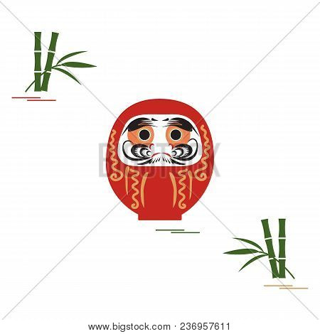 Daruma - Japanese Traditional Doll Roly-poly