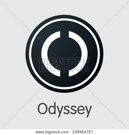 Odyssey Blockchain Colored Logo. Blockchain, Block Distribution Ocn Transaction Icon