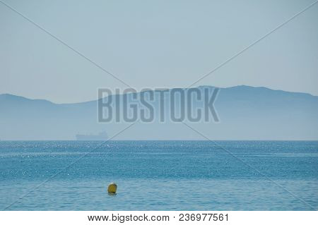 Beautiful View On Strait Of Gibraltar, Spain