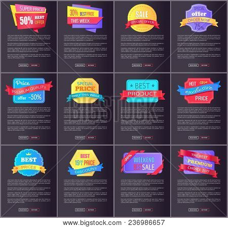 Hot Exclusive Sale, Price Premium Quality Offer Total Discounts Collection Of Color Posters With Web