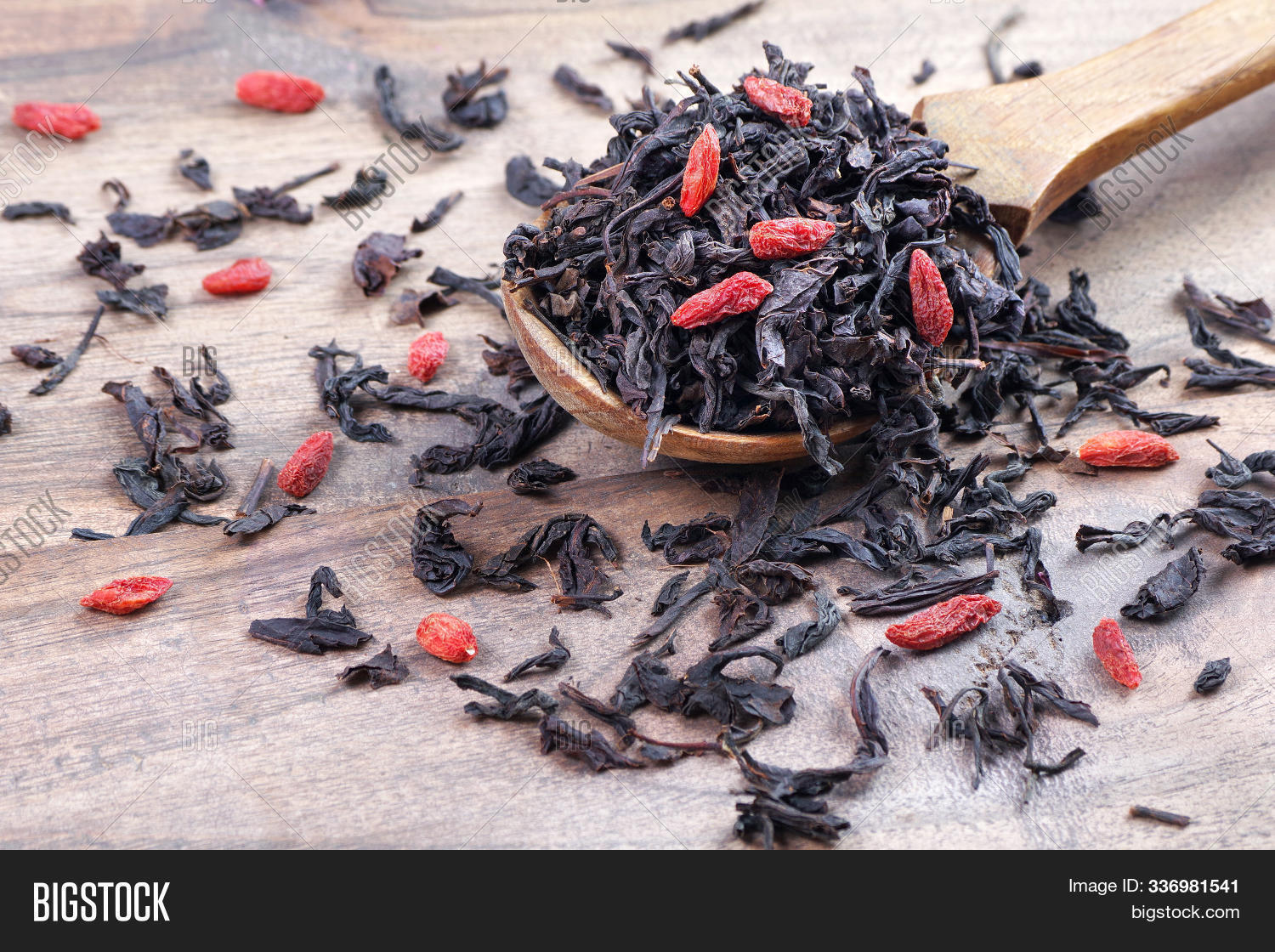 Blended Tea Dry Image Photo Free Trial Bigstock