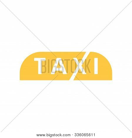 Taxi Icon Design Template Vector Isolated Illustration