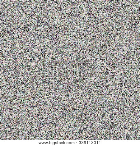 Static Noise Bad Signal Tv Screen Seamless Pattern