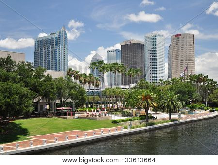 The Riverwalk in Downtown Tampa