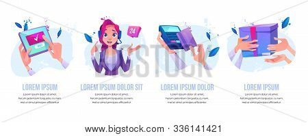 Online Order, 24 Hour Call Service Operator Customers Support, Pos-terminal Card Paying, Purchase De