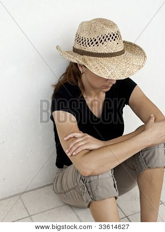 Depressed And Dissapointed Women