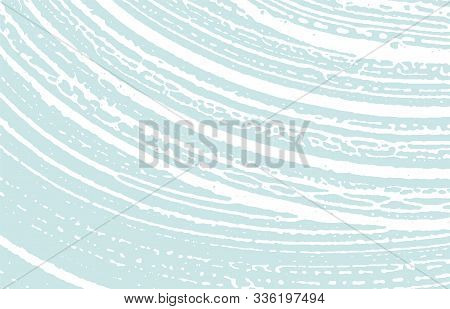 Grunge Texture. Distress Blue Rough Trace. Dazzling Background. Noise Dirty Grunge Texture. Breathta