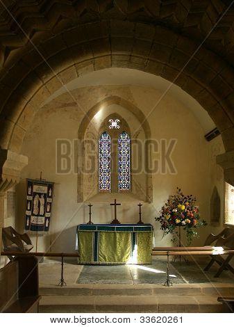 Chancel, Norman Church
