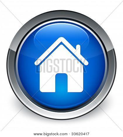 Home icon (3d vector)