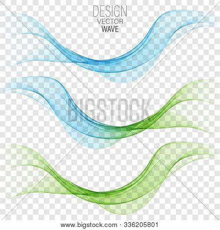 Bright Green Blue Speed Abstract Lines Flow Minimalistic Fresh Swoosh Seasonal Spring Wave Transitio