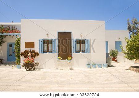 Cyclades White Architecture Pollonia Milos  Greek Island Greece