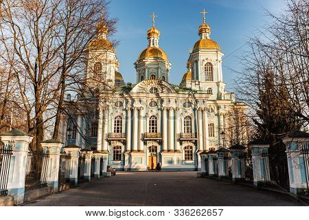 St. St. Petersburg, Russia, Naval Cathedral Of St. Nicholas (naval Cathedral Of St. Nicholas).