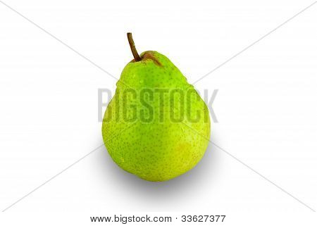 Pear With Shadow