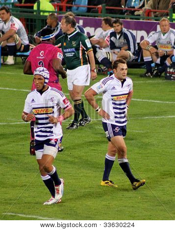 Rugby Gio Aplon And Dewaldt Duvenage Stormers South Africa 2012