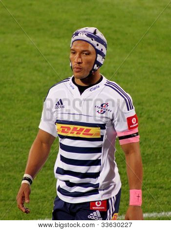 Rugby Gio Aplon Stormers South Africa 2012