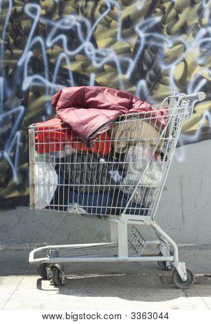 Homeless Shopping Cart