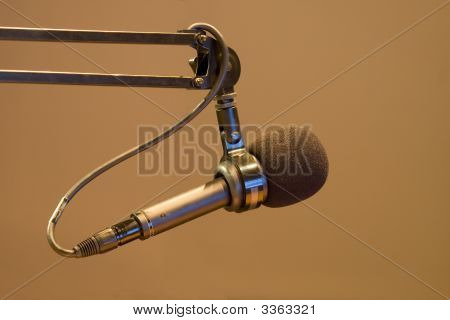 Radio Announcer Microphone