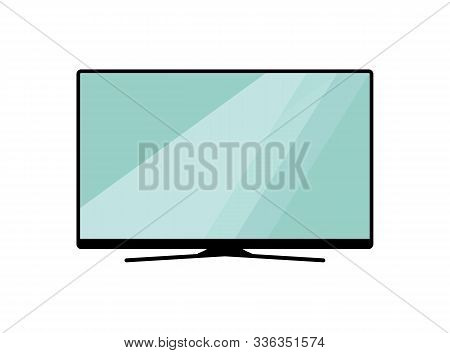 Smart Tv  Icon.led Tv Icon. Electronic Television.smart Tv  Icon On White Background Drawing By Illu