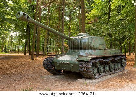 WW2 battle tank