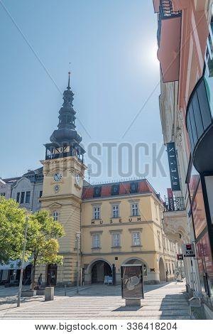 Ostrava, Czech Republic - August 29, 2019: Ostrava Museum.