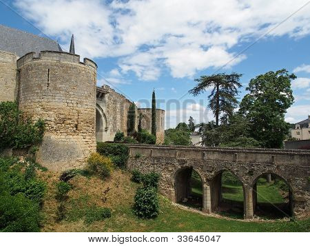 Montreuil Bellay Castle, France.
