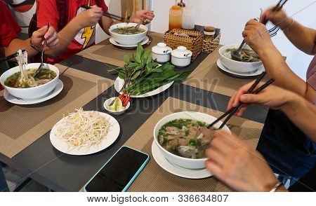 Traditional Vietnamese Noodle Soups (pho Bo)