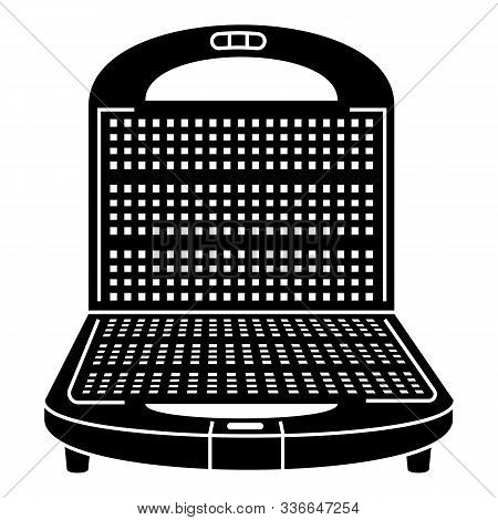 Waffle-iron Icon. Simple Illustration Of Waffle-iron Vector Icon For Web Design Isolated On White Ba