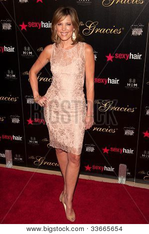 BEVERLY HILLS, CA - MAY 21: Hannah Storm arives at the Gracie Awards Gala on May 21, 2012 at the Beverly Hilton Hotel in Beverly Hills, California.