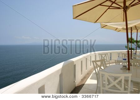 Ocean View From Balcony