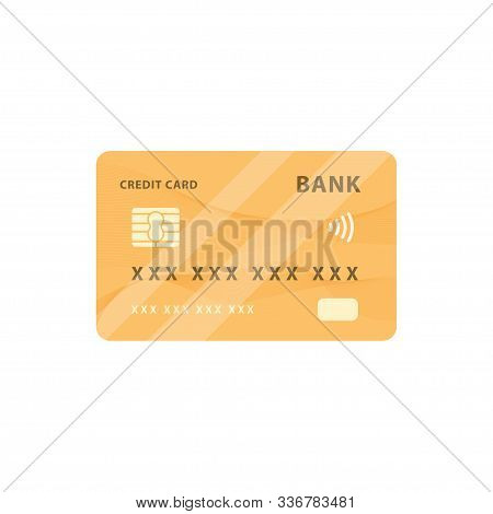 Credit Card Design, Credit Card Icon, Credit Card Logo, Vector Illustration Credit Card, Contactless