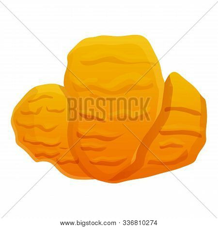 Undersea Coral Icon. Cartoon Of Undersea Coral Vector Icon For Web Design Isolated On White Backgrou