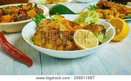 Caribbean  Jerk Chicken Thighs