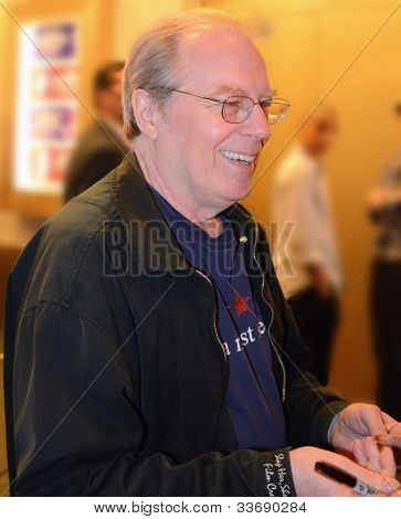 NEW YORK CITY - MAY 18: Michael McKean signing after a performance of