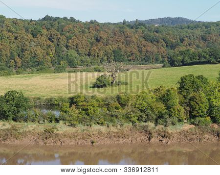 View Of Countryside In Chepstow