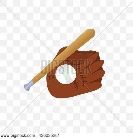 Baseball Glove Vector Illustration. Baseball Glove Vector Illustration.