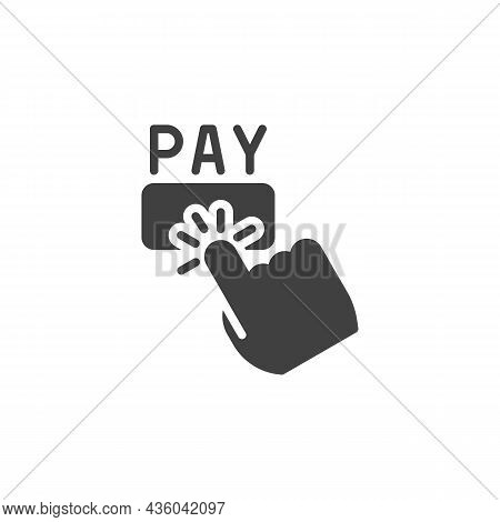 Pay Per Click Advertising Vector Icon. Filled Flat Sign For Mobile Concept And Web Design. Pay Per C
