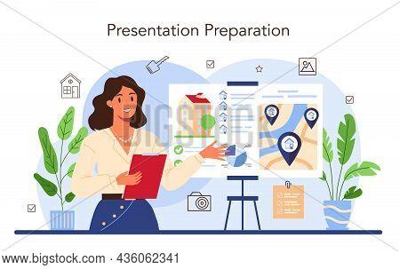 Real Estate Industry. Property Selling Presentation. Real Estate Agent