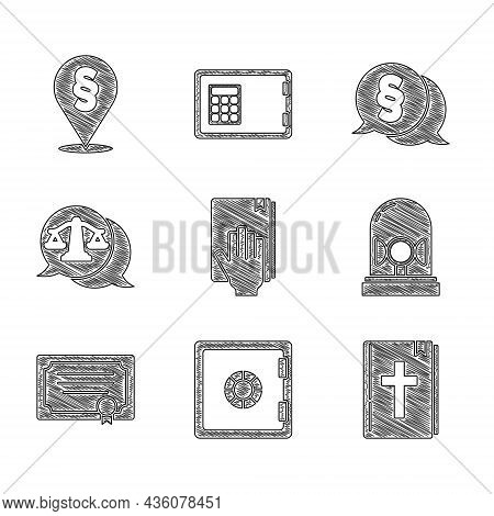 Set Oath On The Holy Bible, Safe, Bible Book, Flasher Siren, Certificate Template, Scales Of Justice