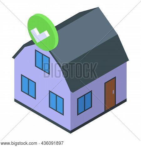 Home Internet Provider Icon Isometric Vector. Building Service. Wireless Wifi
