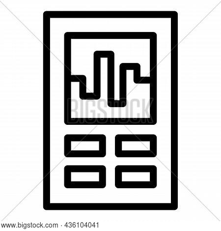 Milling Cnc Machine Icon Outline Vector. Work Tool. Laser Factory